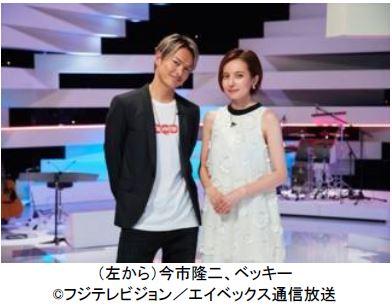 今市隆二(三代目J Soul Brothers from EXILE TRIBE)とベッキーがMCを務める音楽番組『LOVE or NOT♪』1月31日(水)から地上波放送決定!