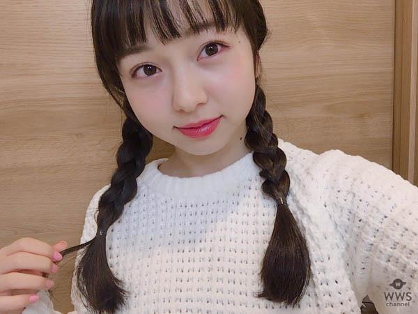 西田ひらり(GEM)のツインテール写真に「ひらりんツインテ、最高かよ!」とキュン死のファンが続出!粉雪舞い散る日に小さな天使が舞い降りた!
