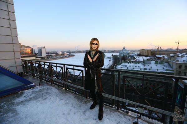 ロシア滞在中のX JAPAN YOSHIKIに出演オファーはすでに20番組超え!テレビ番組の『YOSHIKI獲得争奪戦』が白熱!