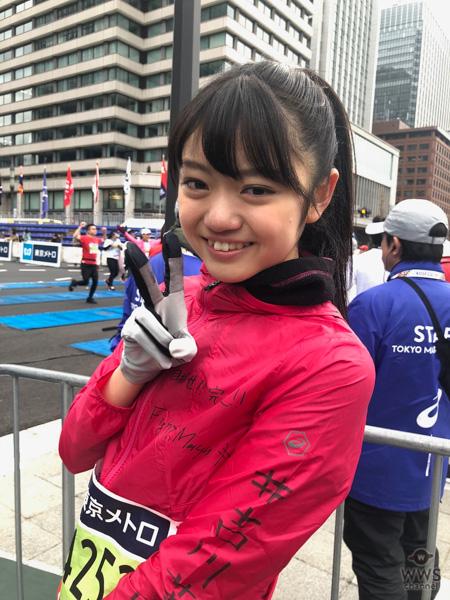 アップアップガールズ(2)・吉川茉優が東京マラソン2018を完走!「人は挑戦すれば達成できる。これからも沢山の挑戦をして沢山の方に勇気を与えたい。」