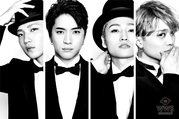 X4(エックスフォー)2018年第1弾発表!フルアルバム「XXXX(エックスフォー)」を4月にリリース!それに伴う全国ツアー開催を発表!!