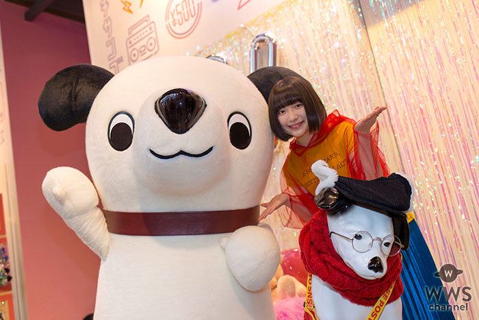 現役女子高生アーティスト・吉田凜音が「四代目ニッパー大使」に就任 ニッパー犬とかわいく撮れるインスタ映えスポット原宿に出現!