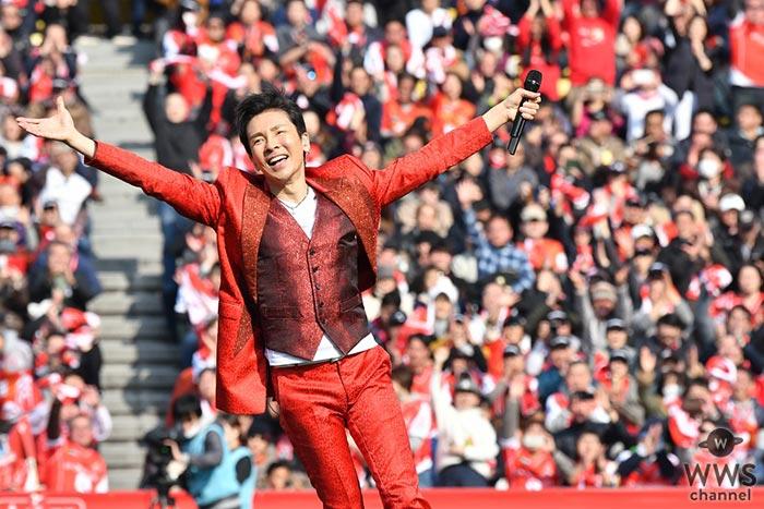 郷ひろみ、スーパーラグビー開幕戦で国歌斉唱・ハーフタイムでは2億熱唱!