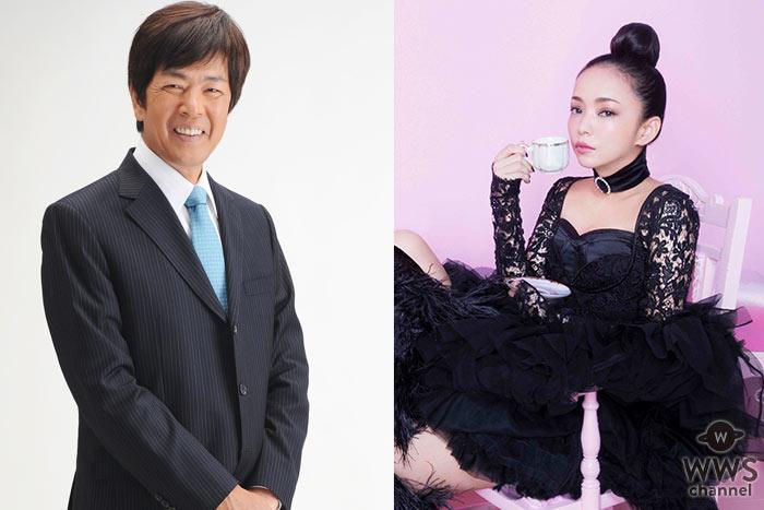 """勇退に向けて歩み始めた安室奈美恵へ、""""元テレビ通販のカリスマ""""髙田明が、 最後のツアーグッズをあの声・あのテンポ・あの場所でご紹介!"""