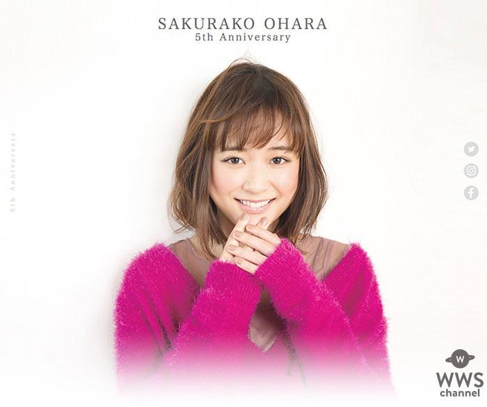 大原櫻子 今年12月でデビュー満5周年! 5周年第一弾で初のW主演映画への出演発表!!