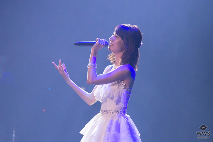 AKB48・柏木由紀が純白のドレスで「Thank You Disney Live 2018」に出演!