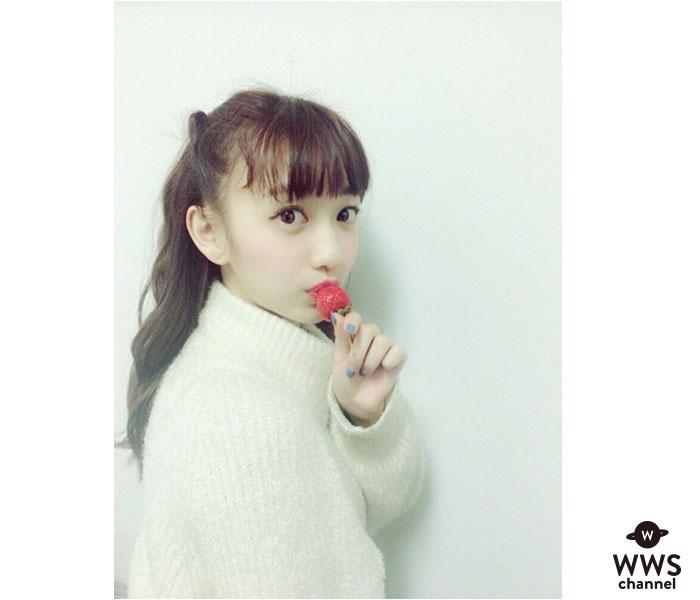 関根優那(チキパ)の白ニットいちごが可愛すぎ!「可愛いさマシマシ!」