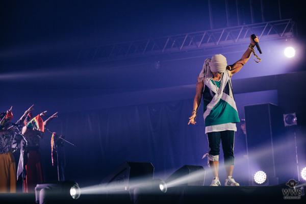 【ライブレポート】HAN-KUN from 湘南乃風「YO!お前らレゲエ好き?」「俺に言わせればハンパねぇ!」 東京オートサロン2018テーマソング・新曲『Be Strong』、ヒット曲『睡蓮花』も サプライズ披露!!