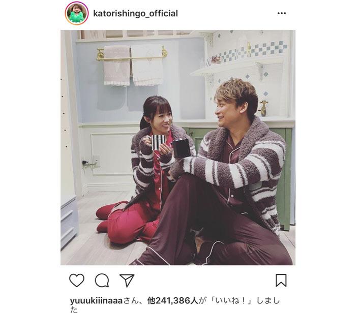 香取慎吾、深田恭子と恋人同士みたいとと話題に! 「悔しいけどくうの音も出ない」