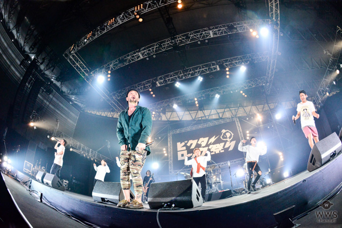 【ライブレポート】ORANGE RANGEが初登場!歴代のヒット曲を網羅したセットリストで圧巻の全7曲披露!<ビクターロック祭り2018>