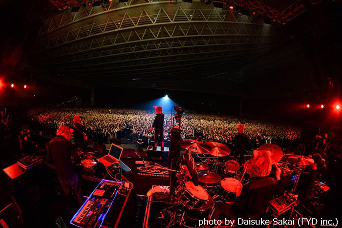 MAN WITH A MISSIONが「ツタ ロックフェス2018」に出演!2万人を超える来場者を魅了!