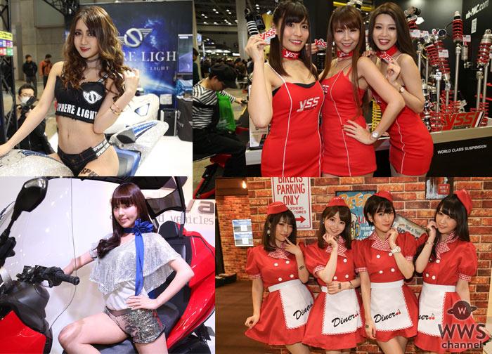 【写真特集】華やかでセクシーなコスチュームのコンパニオンが登場!<第45回東京モーターサイクルショー>