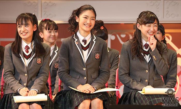 さくら学院 満員の中野サンプラザで3名のメンバー、山出愛子、岡田愛、岡崎百々子が卒業!