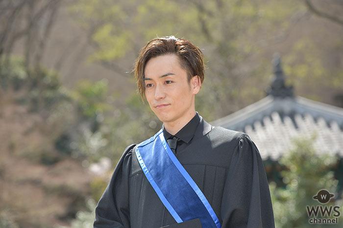 EXILE TETSUYA 早稲田大学大学院を卒業し、大隈講堂をバックに登場!