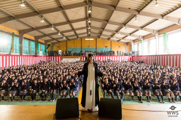 絢香、卒業式でサプライズ!3月21日(水・祝)スッキリで放送決定!