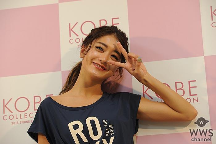 池田美優がカジュアルスポーティーコーデでヘルシーなヘソ出しファッションで登場!「自分の着たい服を着て楽しんで!!」
