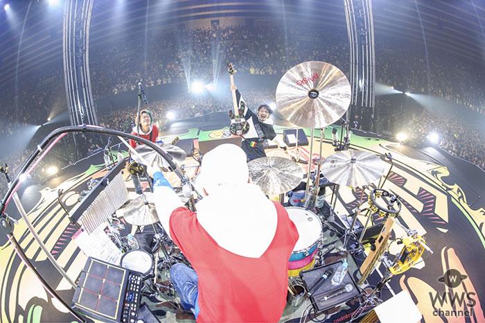 WANIMA『Everybody!! TOUR』アリーナ編!!本日14,000人満員の大阪城ホールよりスタート!! 大阪城ホール史上初となるセンターステージでのアリーナスタンディングを実現!!