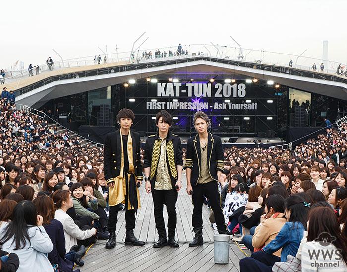 KAT-TUNがジャニーズ事務所初となるイベントを「LINE LIVE」にて生中継!