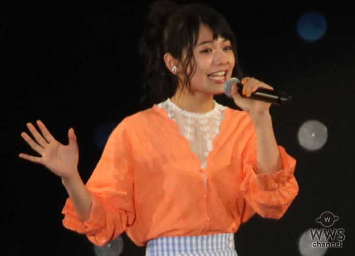 シンガーソングライター、足立佳奈がTGCオープニングアクトで登場!<東京ガールズコレクション2018 S/S>