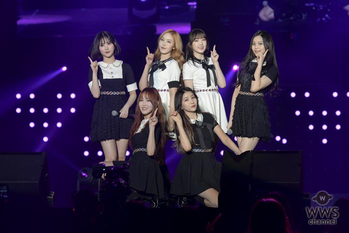 韓流ガールズグループ・GFRIENDがオープニングアクトで登場!<TOKYO GIRLS MUSIC FES. 2018>