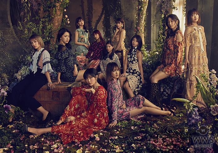 E-girls、全国のダンス部高校生と共演の「Y.M.C.A.」ミュージックビデオ公開