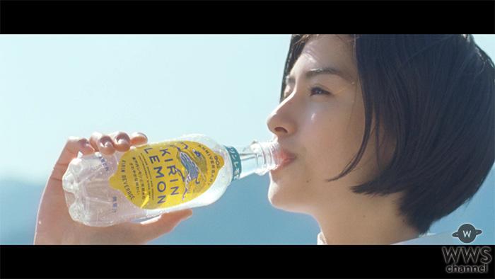 キリンレモンの新CMに佐久間由衣が出演!楽曲は人気急上昇中、BiSHがキリンレモンのうたを熱唱!