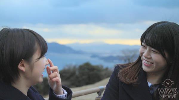 <STU48 × ココイチ>スペシャルキャンペーン【広島篇ムービー明日公開】STU48メンバー 甲斐心愛(かいここあ)/矢野帆夏(やのほのか)