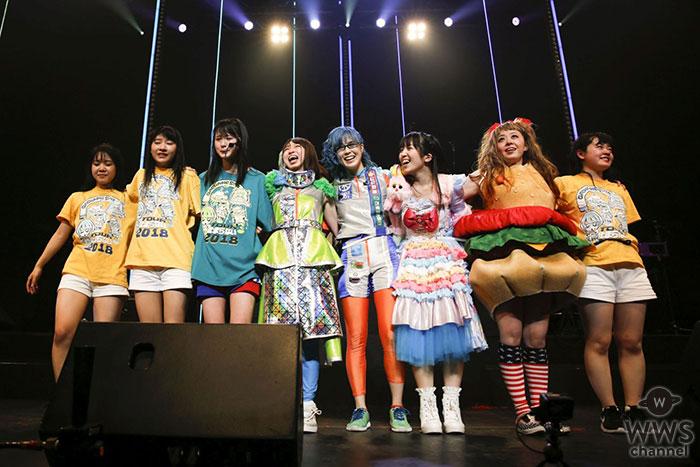 Gacharic Spin全国ツアー「止まらない2018」ファイナル公演で TOKYO DOME CITY HALLを熱狂の渦に!