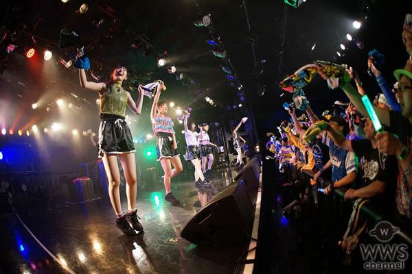 たこやきレインボー全国ツアー初日、クールなダンスナンバー「虹色進化論」初披露!