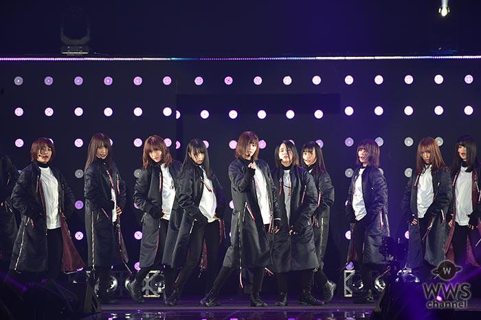 欅坂46がTGCのライブステージに登場!パワフルなロックチューン「ガラスを割れ!」で切れ味鋭いダンスで魅了!<東京ガールズコレクション2018 S/S>