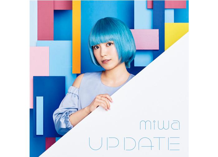miwa がニューシングル「アップデート」で青髪ショートに!!TVアニメ「僕のヒーローアカデミア」第3期エンディングテーマに決定!