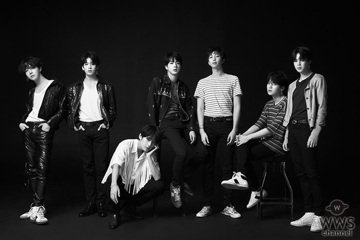 BTS (防弾少年団)のニューアルバム「LOVE YOURSELF 轉 'Tear'」がK-POP初のビルボードNo.1を獲得!
