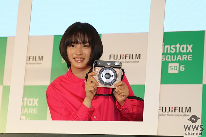 【速報】女優 ・広瀬すずが登場!富士フイルム instax・チェキ新製品をPR!