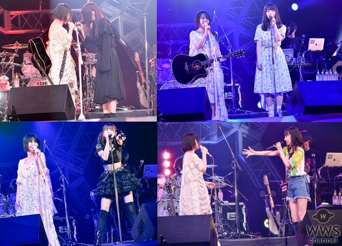 【ライブレポート】ビバラポップ!クライマックス「大森靖子×❤❤❤コラボスペシャルライヴ」にBiSHのアイナ・ジ・エンド、欅坂46・長濱ねるがゲスト出演で奇跡のアイドルコラボが展開!