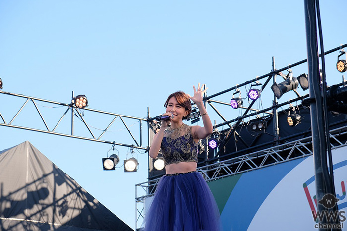 May J. 長崎DEJIMA博「SPECIAL LIVE」に出演!テレビ生出演ではDEJIMA博の食レポも!