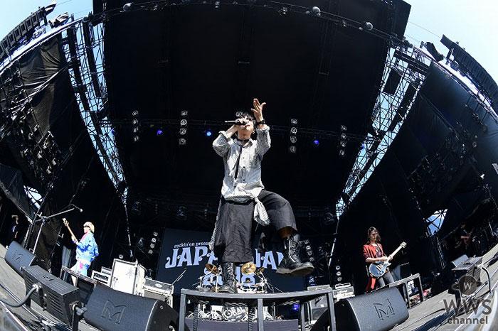 【ライブレポート】THE ORAL CIGARETTESがJAPAN JAM 2018の2日目、SKY STAGEに登場! テンション全開でオーディエンスを煽りまくる!