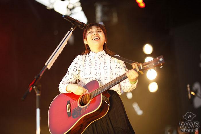 阿部真央、「JAPAN JAM 2018」で勢いのあるステージで魅了!デビュー10周年へ「もっと邁進できるように頑張りたい」