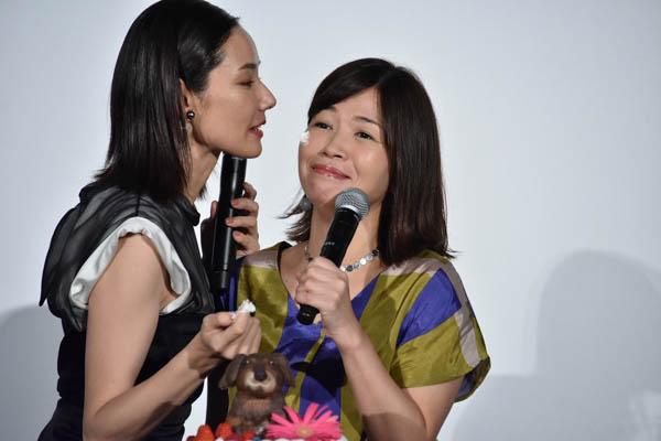 吉田羊、広末涼子、野村周平らが「ラブ×ドッグ」舞台挨拶に登場!