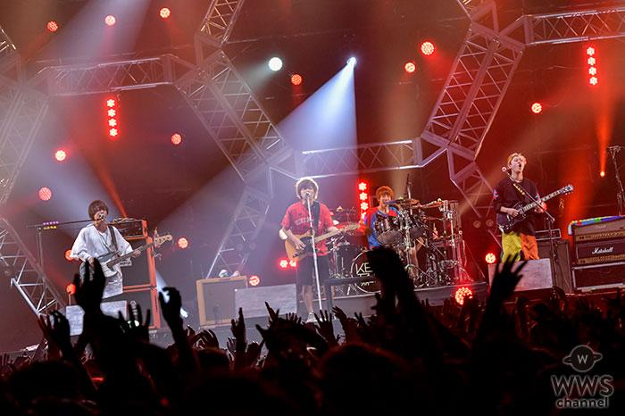 【ライブレポート】KEYTALKがVIVA LA ROCK 2018に登場!夏先取りのお祭りライブを披露