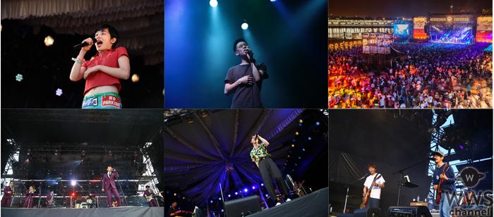 サーフカルチャー、ビーチカルチャーをルーツに持つ、音楽とアートのカルチャーフェスティバル 『GREENROOM FESTIVAL'18』終演! 11万人が音楽とビーチカルチャーで一体となった2日間