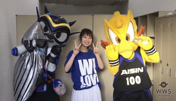 SKE48・高柳明音が「シーホース三河」のファンイベントにサプライズ登場!握手会では特製名刺を配布!!