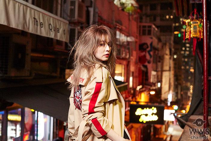 2018年7月10日発売のNorieM magazine#34で香里奈と初のコラボレーション! ファッションパーティー初の日本人モデルのカバー+10ページの特集掲載!
