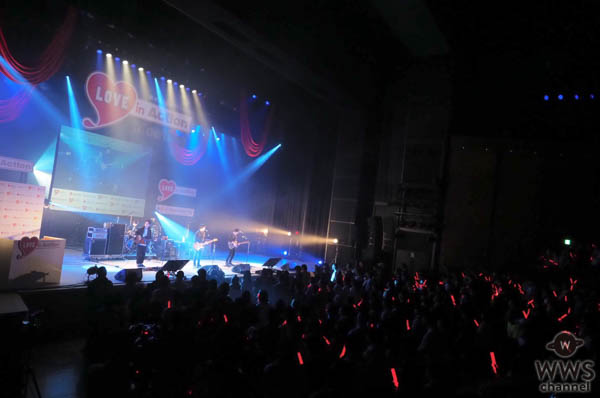 4人組ロックバンド・andropが『LOVE in Action Meeting(LIVE)』にトップバッターで登場! つながりをテーマの楽曲でオーディエンスと献血をつなぐ!