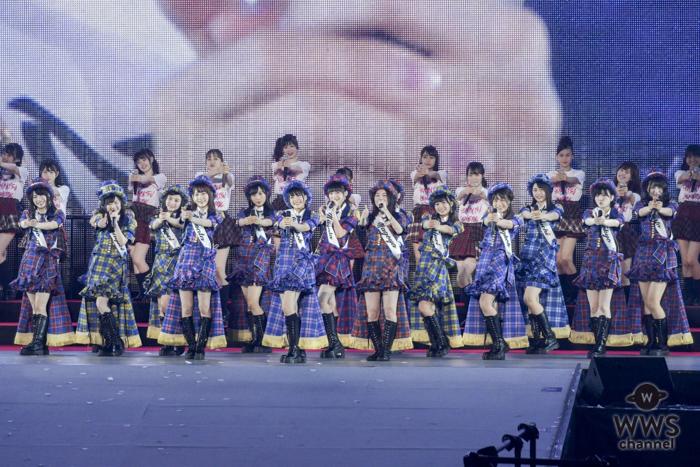 48グループコンサートでSKE48・松井珠理奈を中心に『WORLD48』を結成!〈AKB48 53rdシングル 世界選抜総選挙〉