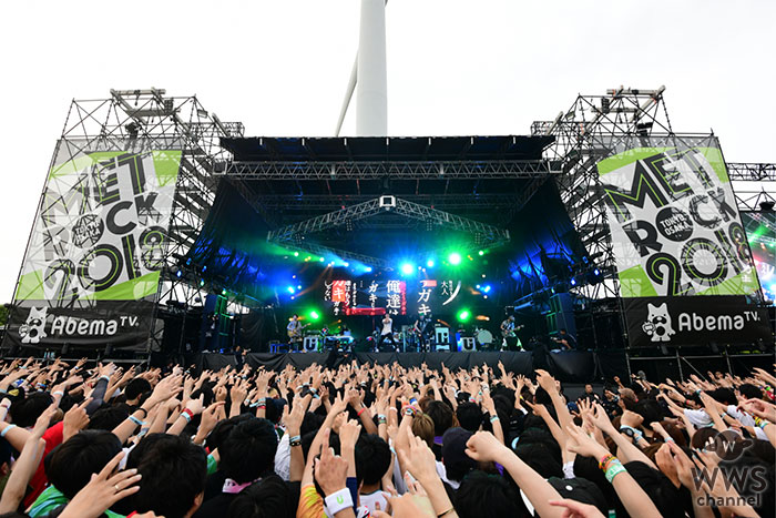 【ライブレポート】UVERworldがメトロック2018に初参戦!黄昏時のステージで攻めに攻めまくる!
