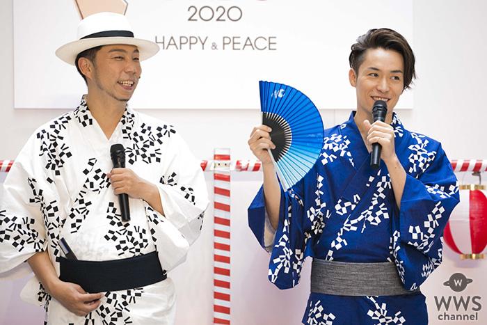 EXILE ÜSAとTETSUYAが東京オリンピック・パラリンピック競技大会組織委員会が主催する『TOKYO 2020と祭でつながろう発表会』に登壇!!