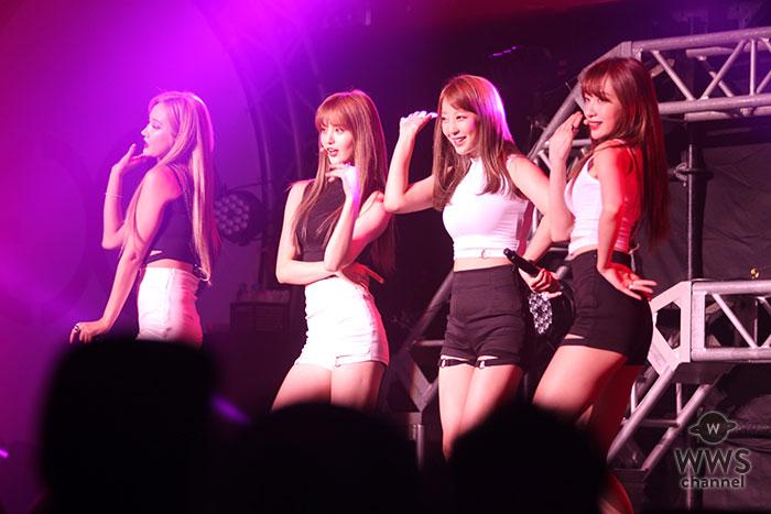 可愛くもセクシーな韓国ガールズグループ・EXIDがZepp Tokyoでデビューショーケースを開催!