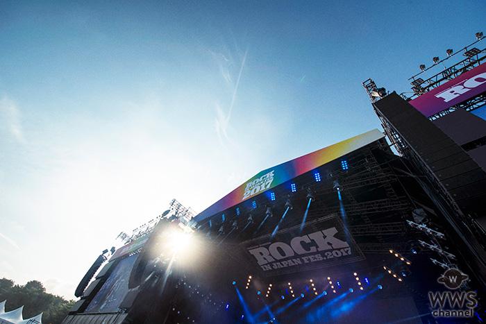ROCK IN JAPAN FESTIVAL 2018、今年もWOWOWで放送決定!!