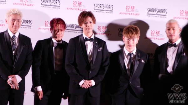 EXILE HIRO、三代目 J Soul Brothers・山下健二郎、岩田剛典、Dream Ami、GENERATIONS、PKCZ®ら豪華ゲストがレッドカーペットに登場!