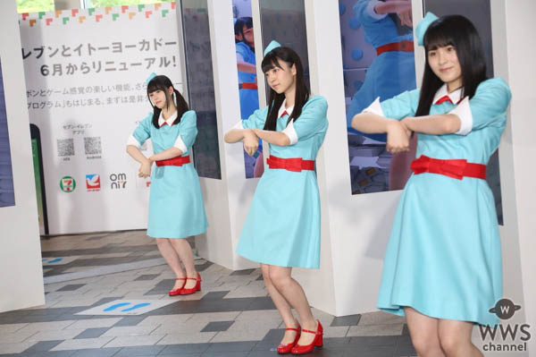 与田祐希ら乃木坂46三期生が六本木ミッドタウンに登場!3Dサイネージ前でダンスパフォーマンス!